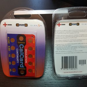 CalCard Retail Blister Packaging