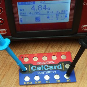 Making a measurement with CalCard