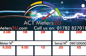 Customised CalCard ACT Meters 2U Back