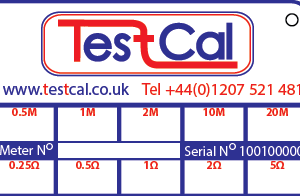 CalCard TestCal Back