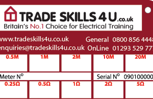 Customised CalCard TradeSkills4U Back